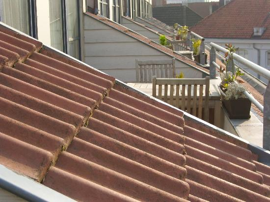 A-XL Flathotel: Se relaxer au soleil sur la terrasse