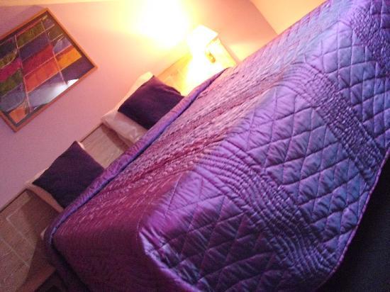 A-XL Flathotel: La chambre violette