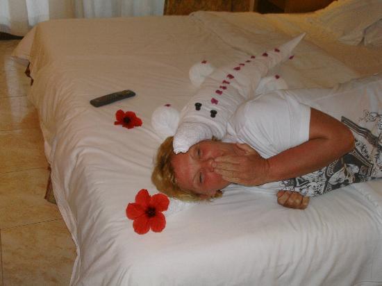 Ghazala Beach Hotel : towel art brill