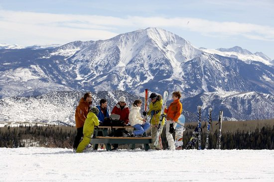 Sunlight Mountain Resort: Atop Sunlight in front of Mount Sopris