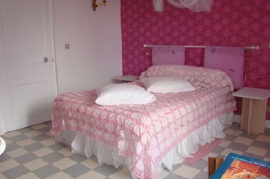 Chambres d'hotes - Le Jardin de la Forge: La chambre rose