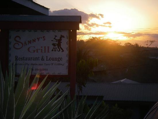 Sanny's Grill Sunset