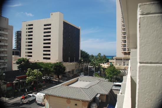 Waikiki Central Hotel: View of Waikiki from Rm 601 Waikiki Prince Hotel