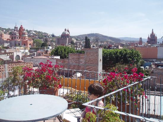 "Casa Calderoni Bed and Breakfast: ""Up on the roof"""