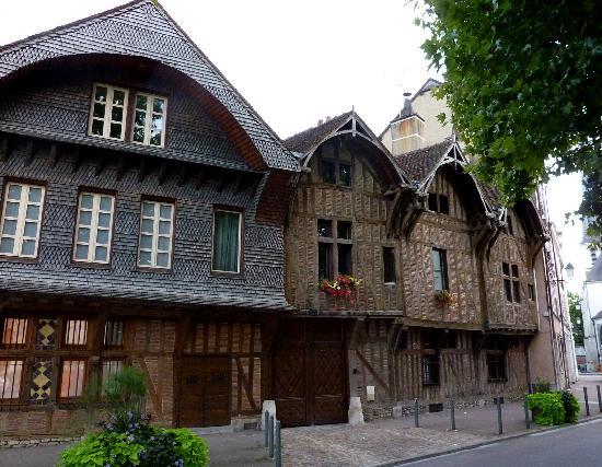Troyes, France: Architettura originale