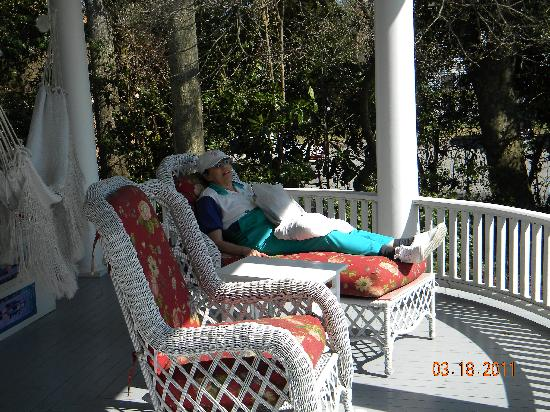 Pamlico House B&B: Great Place to Relax