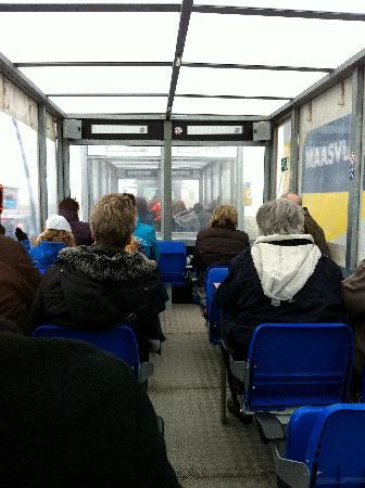 FutureLand Maasvlakte 2 : Inside the train