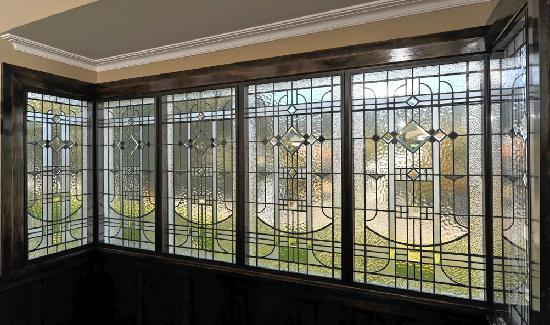 Kershaw House Boutique Accommodation: Historic Stained Glass Windows