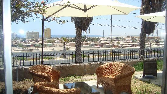 Chinchorro Suite : terraza