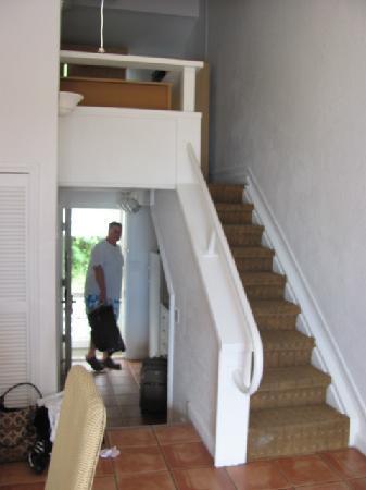 Bluebeardu0027s Beach Club And Villas: Loft Is Above Kitchen...kitchen And Bath