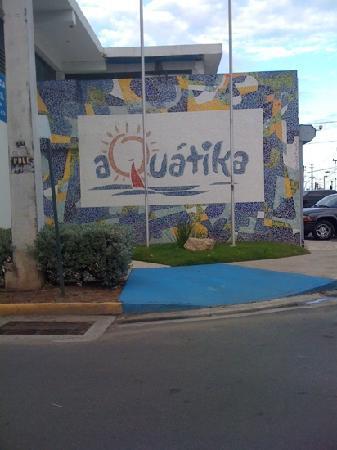 Aquatika Beach Resort : entrada