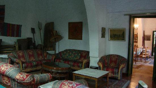 Anthony's Garden House: The sitting room