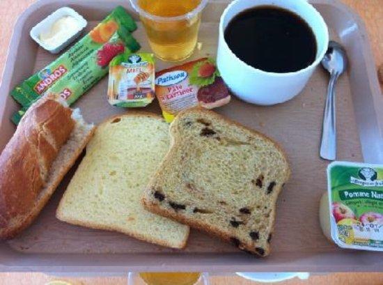 Ibis Budget Lyon Gerland : petit déjeuner