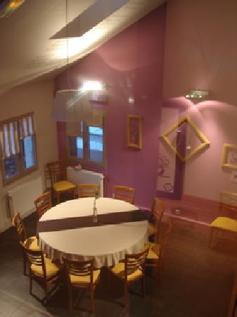 Lac des Rouges Truites, Francia: Salle à manger
