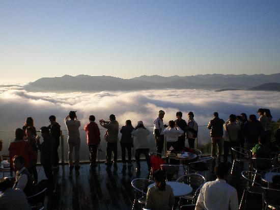 Shimukappu-mura, Japón: 絶景「雲海テラス」