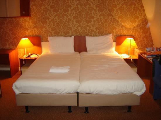 Hotel Wilhelmina: Double bed room