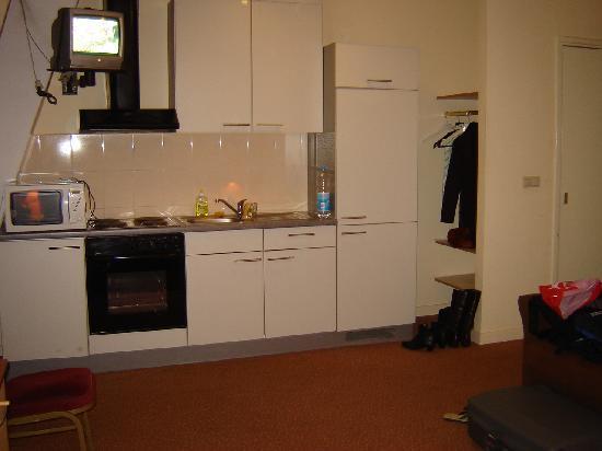 Hotel Wilhelmina: Kitchen corner