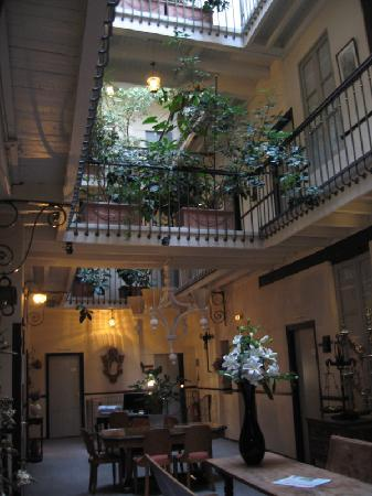 Grand Hôtel d'Orléans : hall