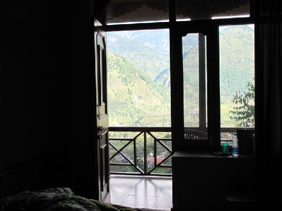 Naggar, India: View from room