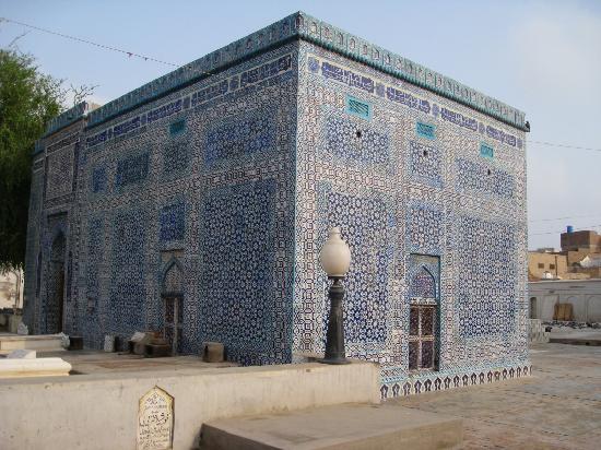 Multan, Pakistan: Tomb Shah Yousaf Gardezi