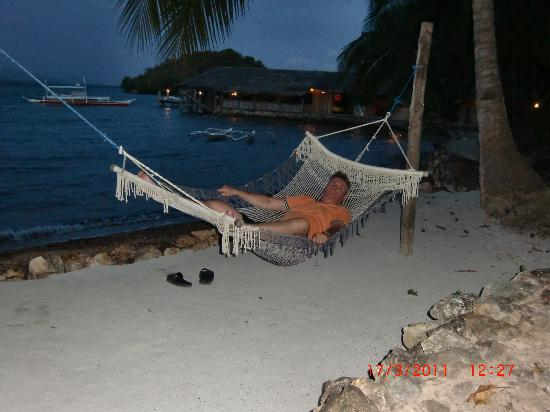 Chindonan Dive Resort: Relaxing before dinner