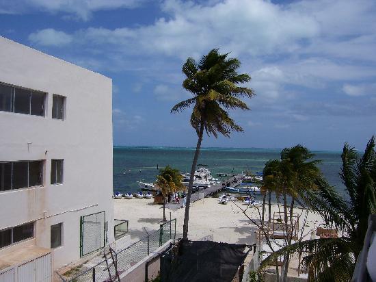 Ocean Spa Hotel: view from 3rd floor, no elevator