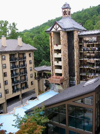 Gatlinburg Town Square Resort By Exploria Resorts : View from our room