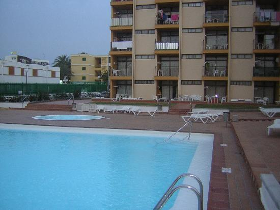 Los Cactus Apartments: piscine et jardin 20 mars 2011