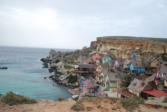 Sliema, Malta: Popeye Village (Where movie filmed)