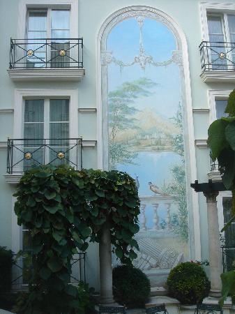 Hotel am Jägertor: im Innenhof