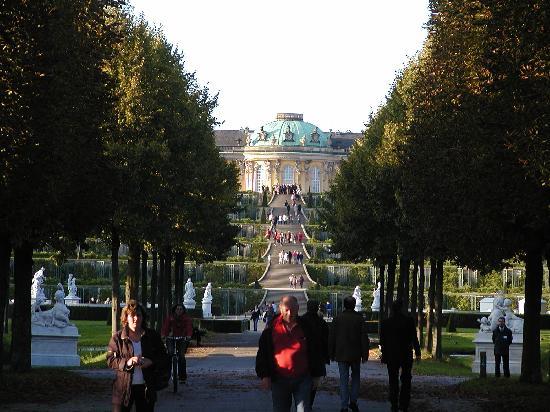 Hotel am Jägertor: Schloss Sans Souci