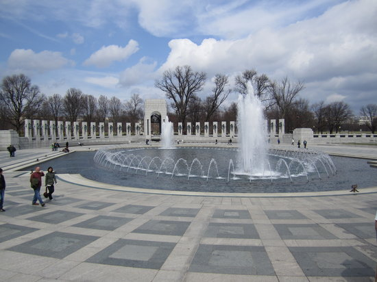 Walk of the Town : WWII Memorial
