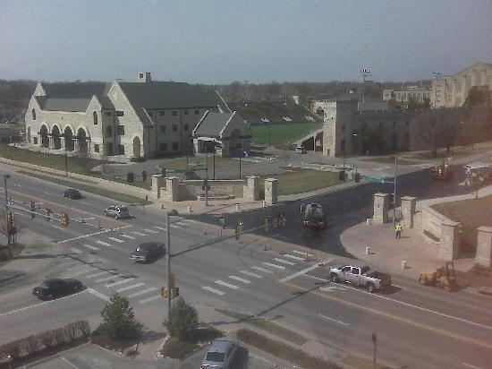 Manhattan, KS : view from the 6th floor