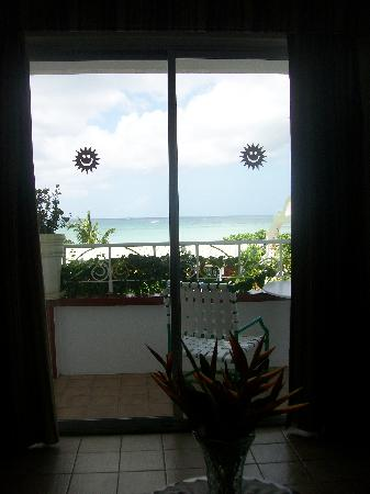 Gem Holiday Beach Resort: view from the living room