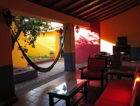 Comala, México: Courtyard and relaxing area