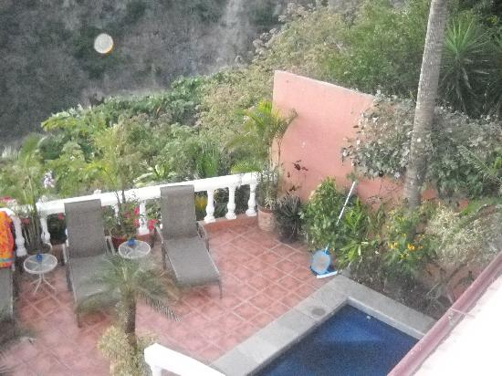 Casa Bella Rita Boutique Bed & Breakfast: A view from the second floor...
