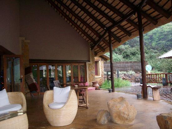 Maliba River Lodge: Maliba Mountain Lodge Deck