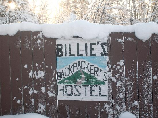 Billie's Backpackers Hostel: Winter at the Hostel