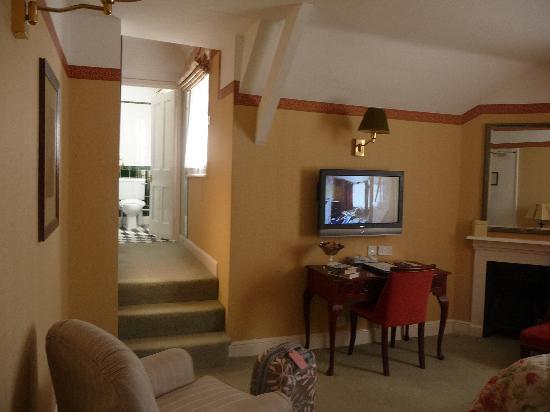 The Roman Camp Inn: the bedroom