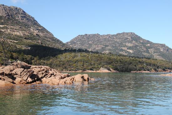 Freycinet Adventures: The view from our morning tea stop