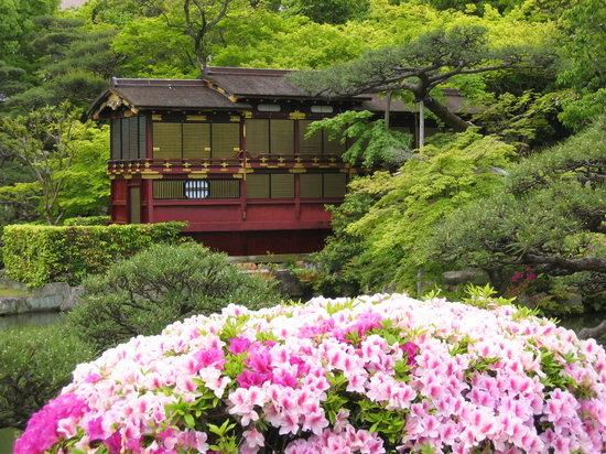 Chuo, Japan: 庭園