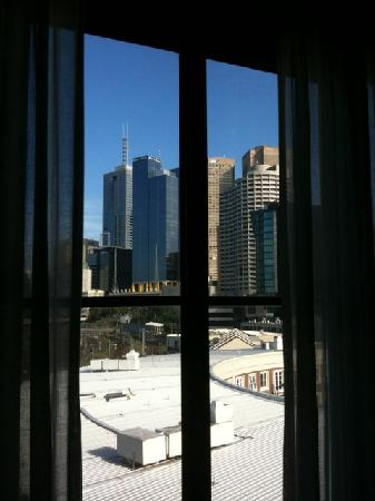 Mantra on Jolimont: View from hotel room at Mantra Jolimont