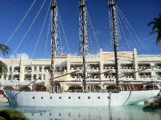 Iberostar Grand Hotel Bavaro: Beautiful Ship On Property