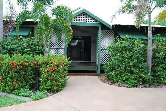 Cocos Beach Bungalows: Our peaceful bungalow