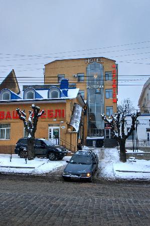 Hotel Premium: in the niche off Holovna Street