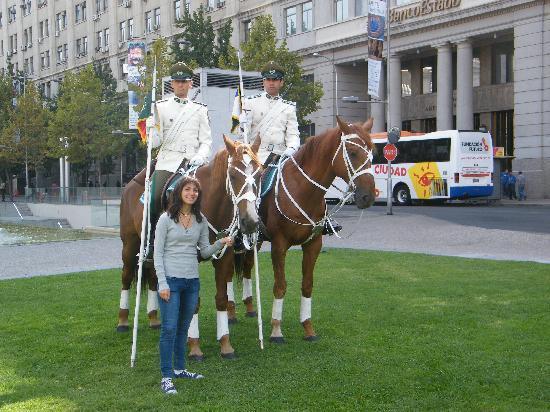 Plaza de Armas: Custodia oficial