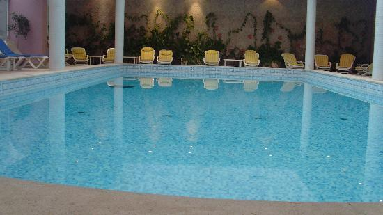 Hotel Laico Hammamet : La piscine chauffé 31° et spacieuse