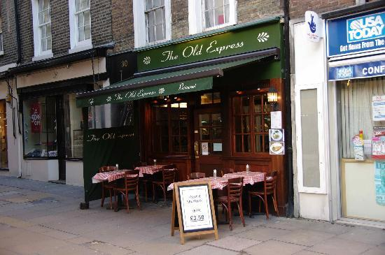 44 Curzon Street by Mansley: The Old Express, Shepherd's Market, across the road from 10 Curzon Street - great breakfast spot