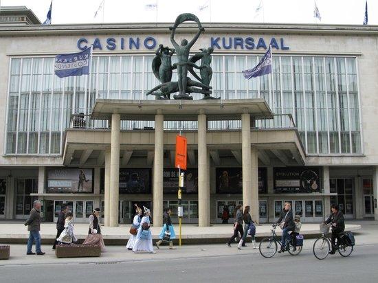 Ostende, Bélgica: Casino Stadtseite