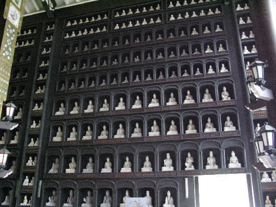 Echizen Daibutsu : 壁一面の大仏像